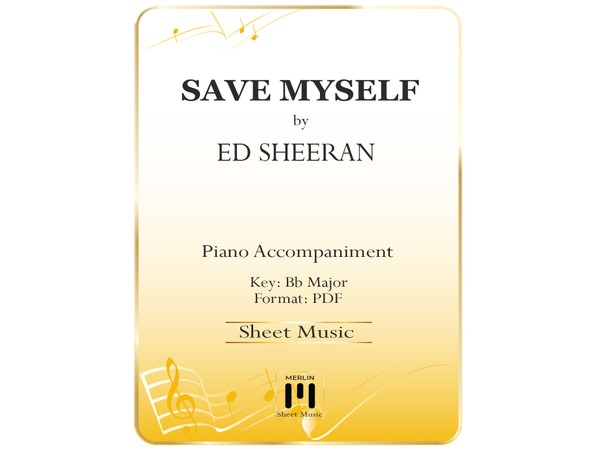 Save Myself - Piano Accompaniment