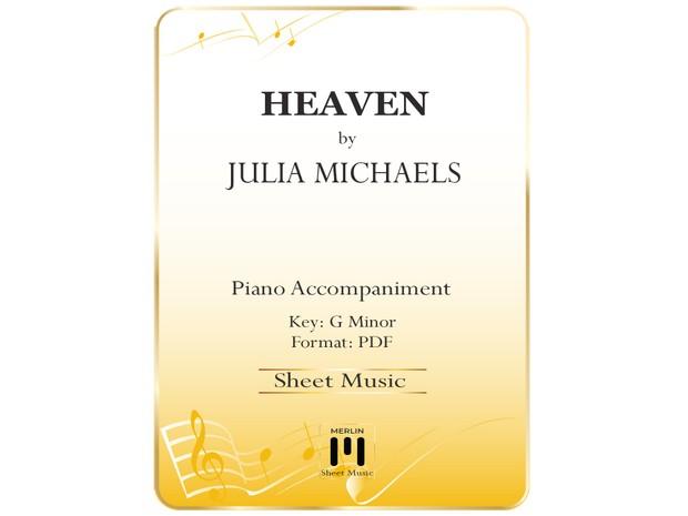 Heaven - Piano Accompaniment