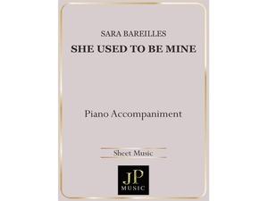 She Used To Be Mine - Piano Accompaniment