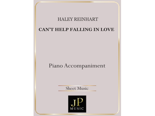 Can't Help Falling in Love - Piano Accompaniment