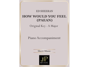 How Would You Feel (Paean) - Piano Accompaniment