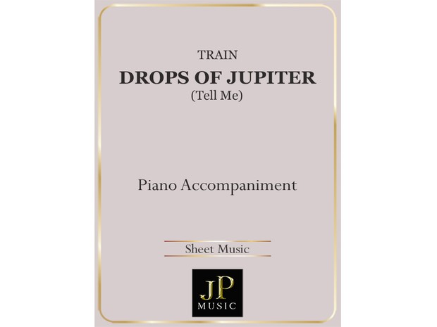 Drops Of Jupiter (Tell Me) - Piano Accompaniment