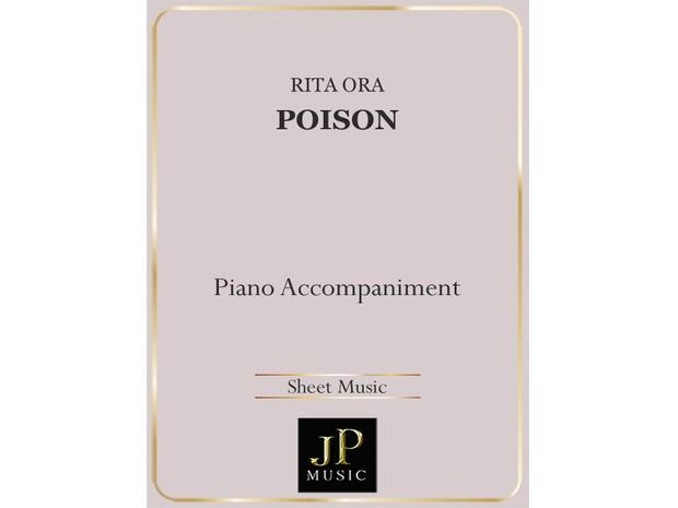 Poison - Piano Accompaniment
