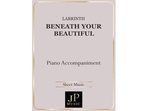 Beneath Your Beautiful - Piano Accompaniment