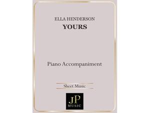 Yours - Piano Accompaniment