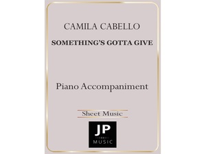 Something's Gotta Give - Piano Accompaniment