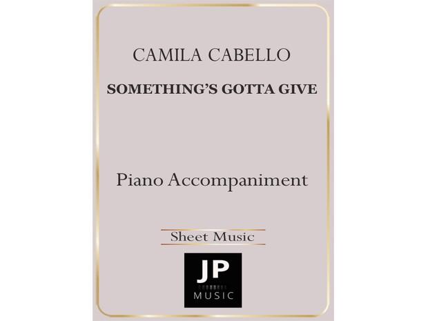 Something's Gotta Give - Piano Accompaniment