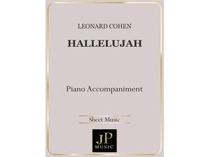 Hallelujah - Piano Accompaniment