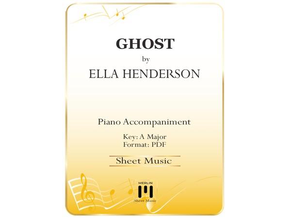 Ghost - Piano Accompaniment