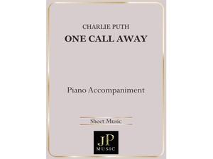 One Call Away - Piano Accompaniment