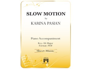 Slow Motion - Piano Accompaniment