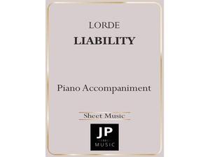 Liability - Piano Accompaniment