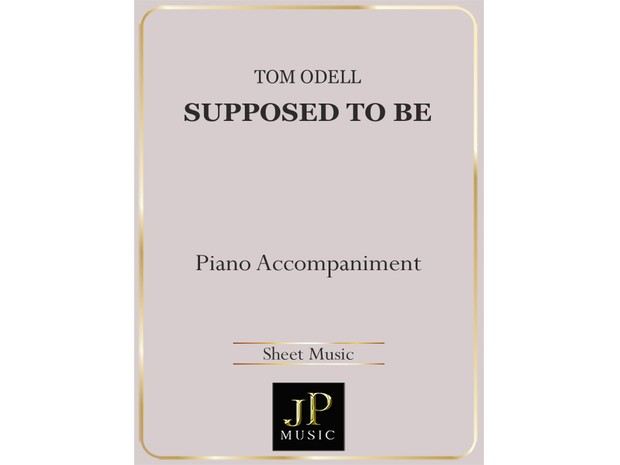 Supposed To Be - Piano Accompaniment
