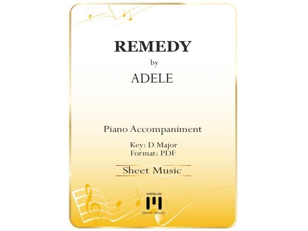 Remedy - Piano Accompaniment