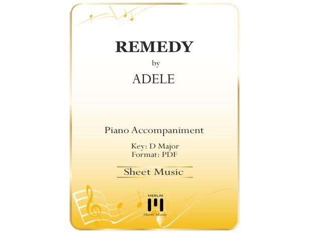 Remedy Piano Accompaniment
