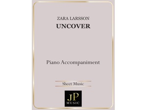 Uncover - Piano Accompaniment