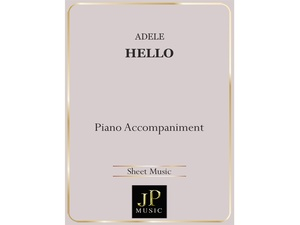 Hello - Piano Accompaniment
