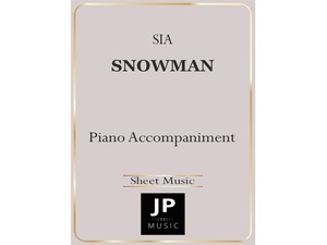 Snowman - Piano Accompaniment