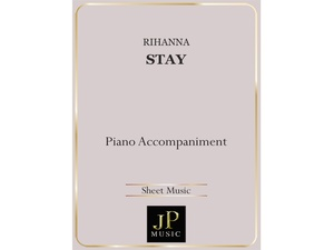 Stay - Piano Accompaniment