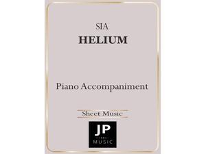 Helium - Piano Accompaniment