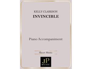 Invincible - Piano Accompaniment
