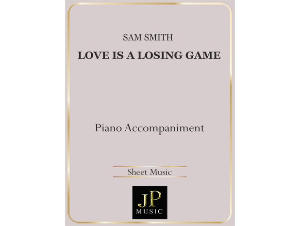 Love Is A Losing Game - Piano Accompaniment