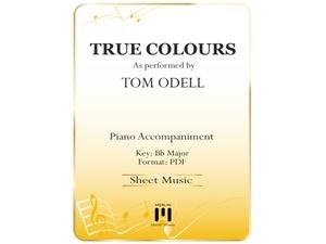 True Colours - Piano Accompaniment