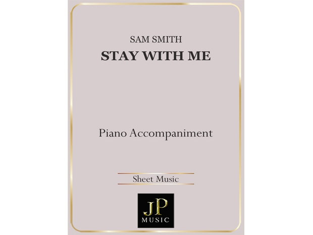 Stay With Me - Piano Accompaniment