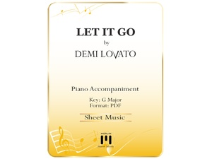Let It Go - Piano Accompaniment