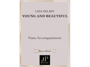 Young And Beautiful - Piano Accompaniment