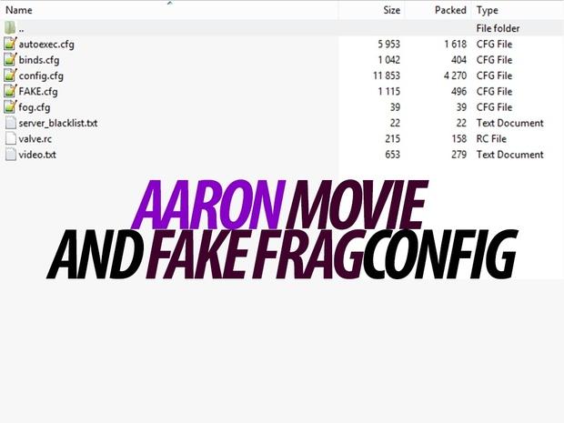 My Movie config for CS:GO