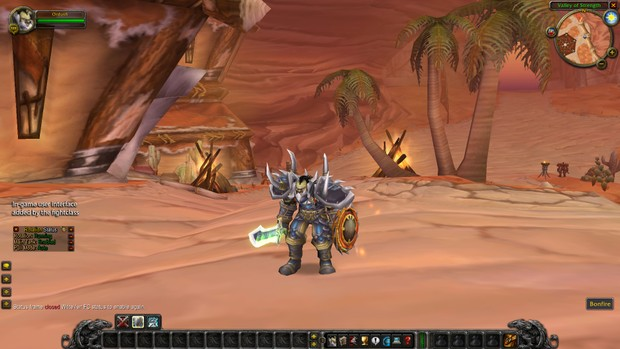 One button macro prot warrior