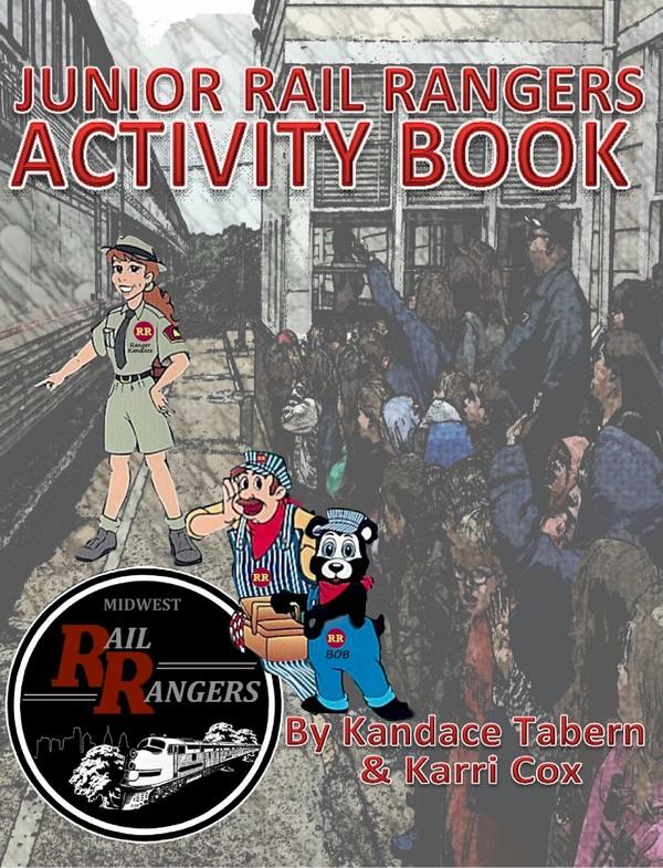Junior Rail Rangers Activity Book (Activity Book ONLY)