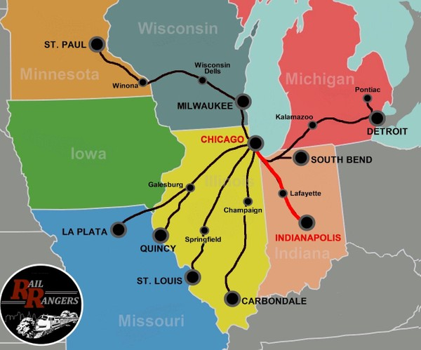 Midwest Rail Rangers Podcast: Indianapolis, IN to Chicago, IL (NORTHBOUND)