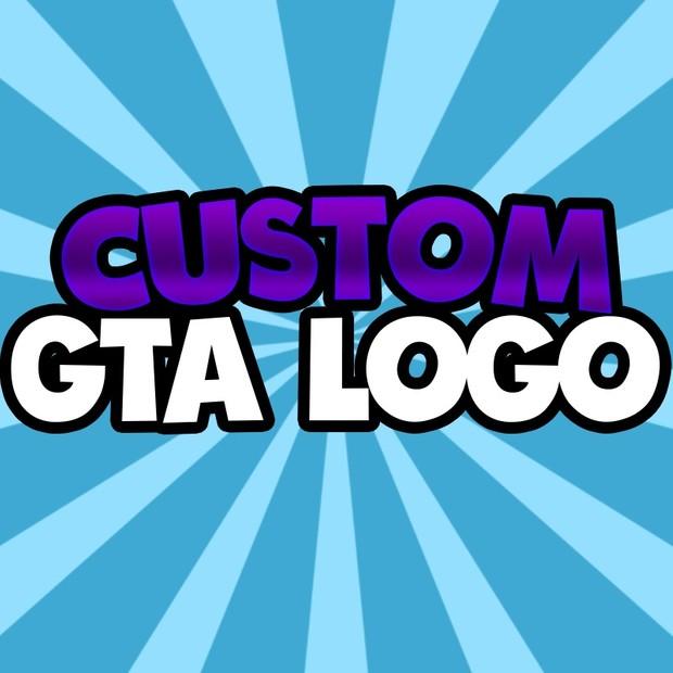 CUSTOM GTA 5 LOGO