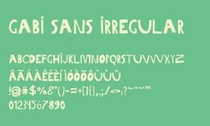 Gabi Sans Irregular