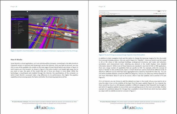 Cityzenith Smart World for City Information Modeling