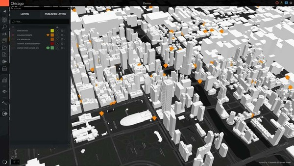 Cityzenith Smart World for City Information Modeling