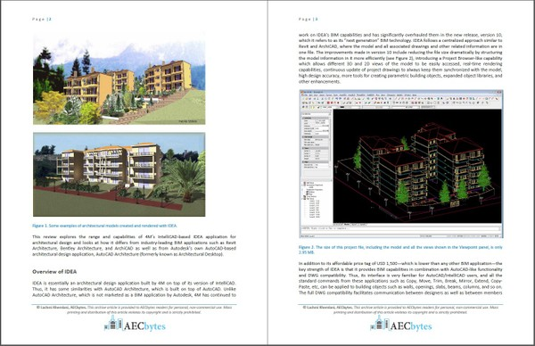 IDEA (IntelliCAD-Based Architectural BIM)