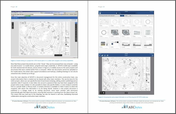 SKYSITE: Cloud-Based Document Management for Construction