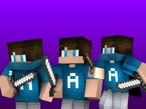 3 Minecraft Renders