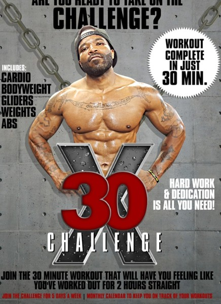 X30 Challenge- 5 Workouts!