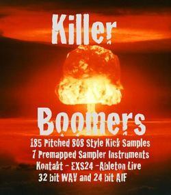 Killer Boomers 808 Kick Pack