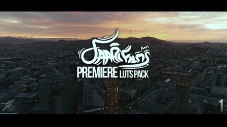Premiere Pro LUT's Pack #1 (5+ Custom LUT's)
