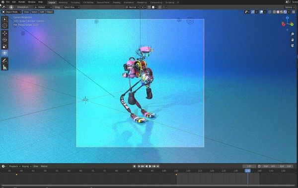 PROJECT FILE: Roboto II Jump Animation