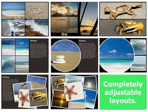 Photo Book Templates (Pack) for iBooks Author