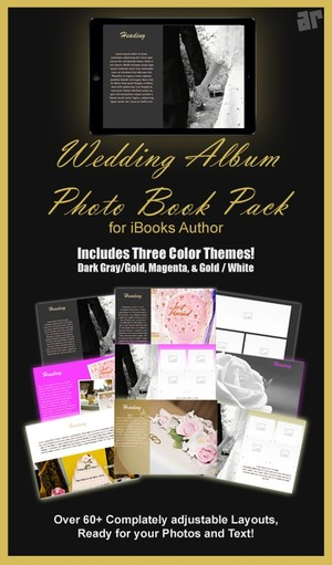 Wedding Photo Album Template Pack for iBooks Author