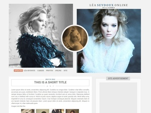Premade 09: Drop Dead (Wordpress/Coppermine)