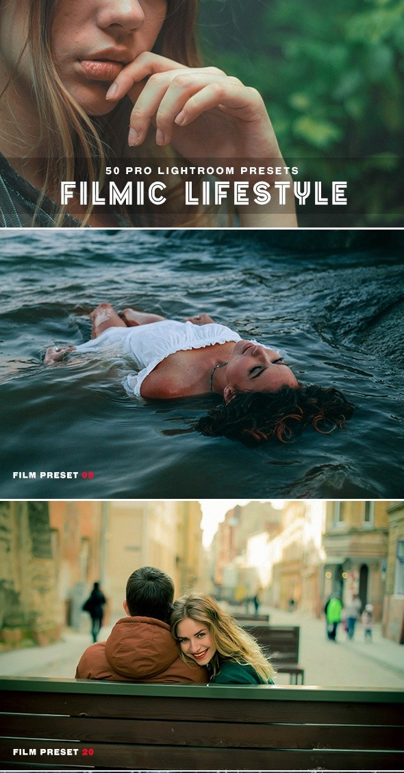 Filmic Lifestyle Lightroom Presets