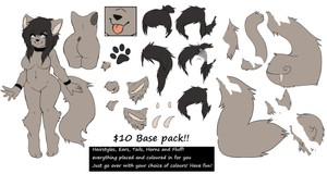 Furry Female Base Pack